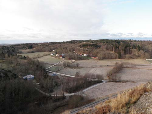 Utsikt från fornborgen