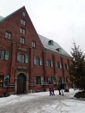 Julgran vid Kronhuset