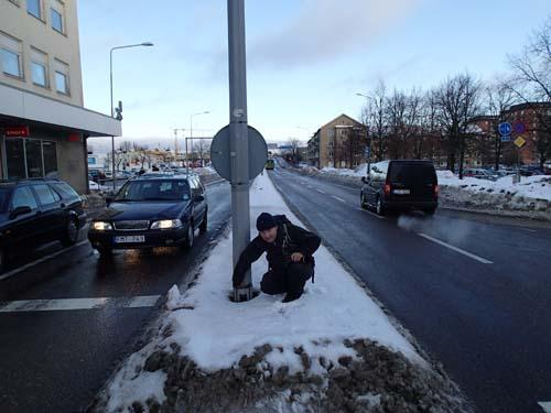 Road Kill - här gäller det att inte ta några snedsteg!