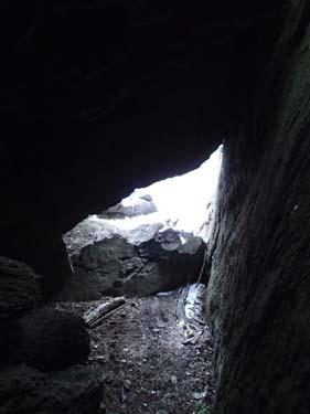Ljuset i grottans mynning!