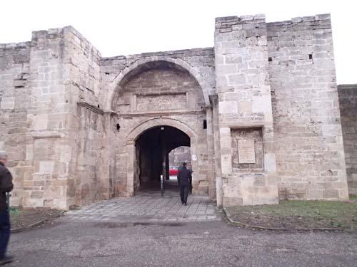 Stadsportarna var imponerande monument från det Ottomanska rikets dagar, men tyvärr blev det en DNF på denna plats.