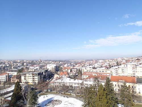 Utsikt från borgklippan.