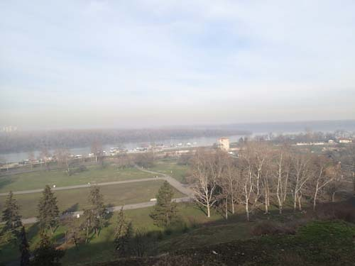 Utsikt över Donau.