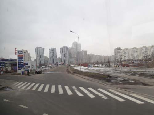 Här bor några hundra tusen personer i Kiev...