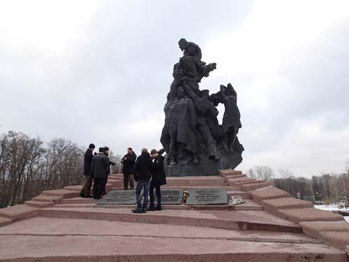Monumentet över masakern.