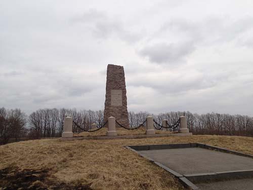 Detta monument restes 1909.