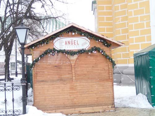 Här ligger fabriken som tillverkar änglar!