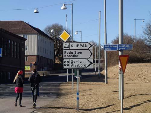 Allt denna dag skulle kretsa kring gamla Älvsborg!