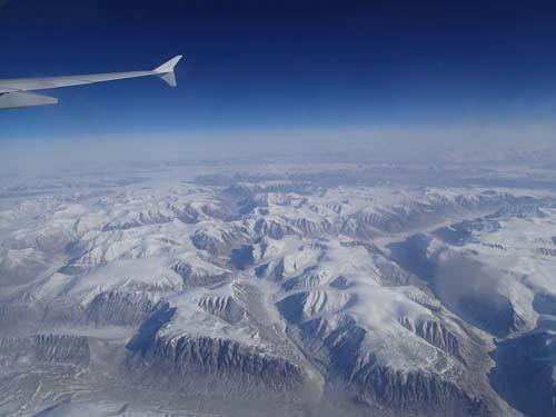 Utsikt över Grönland!
