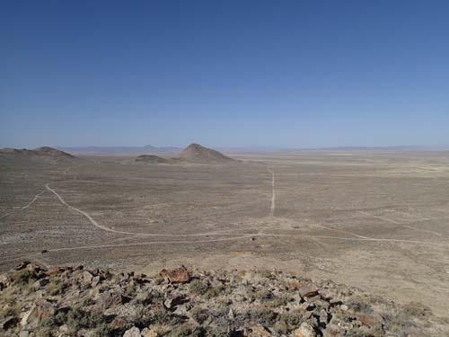Nevadaöknen, ett extremt cachingland!