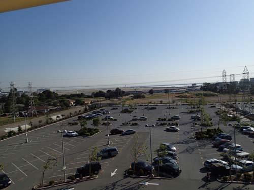 Utsikt över flygplatsen.