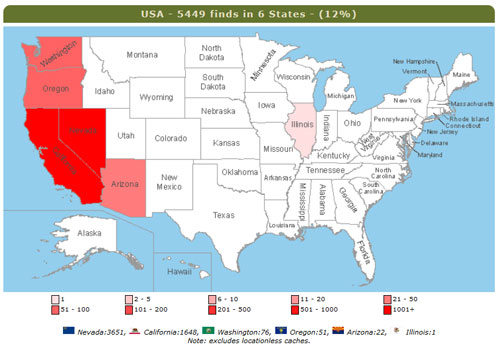 Många fler burkar och ytterligare tre delstater!