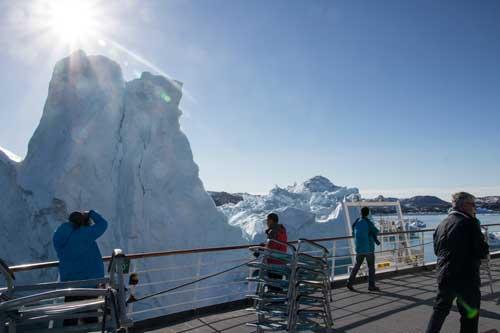 Isbergen kom nära Fram, mycket nära...