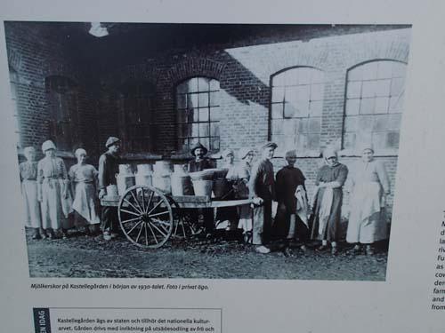 Kastellgårdens anställda under 1930-talet.