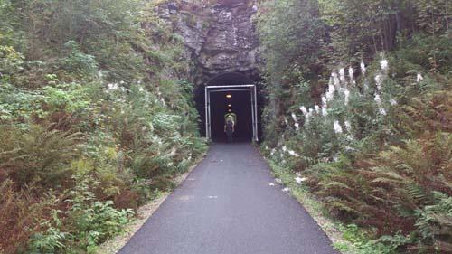Hallén har sett ljuset i tunneln! Foto: TMR68.