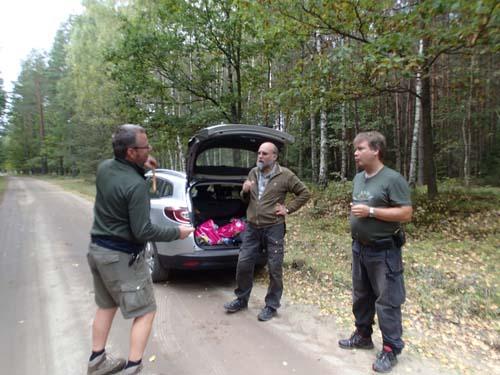 Paus på en skogsväg, Monway berättar med inlevelse om sina senaste burkupplevelser!