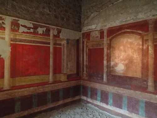 Väggmålningarna inne i Livias hus är drygt hundra år äldre än de man kan se i Pompeji.
