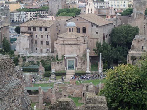 Forum sett från Palatinen