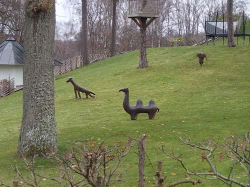 """Märkliga djur i """"hagen""""!"""