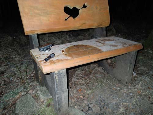 Romantisk bänk