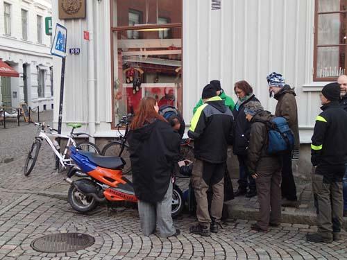 Moped som väcker intresse