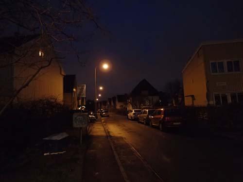 I mörka kvarter.