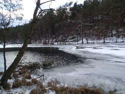 Isen börjar lägga sig!