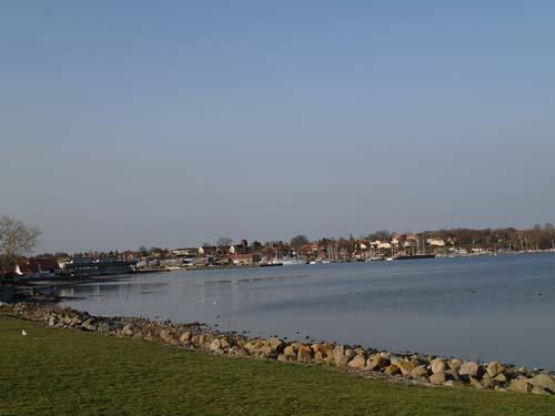 Utsikt mot Roskilde