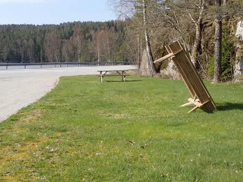 Pisa har sitt torn men i Norge finns detta bord...