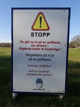 Flygande golf