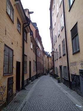 Trånga gator