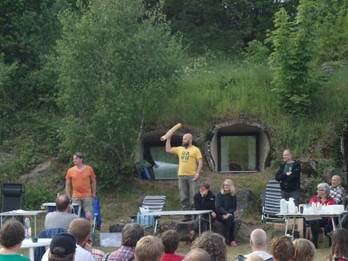 Bumba - nästa års arrangör av Smålandsträffen, jag menar Skåneträffen!