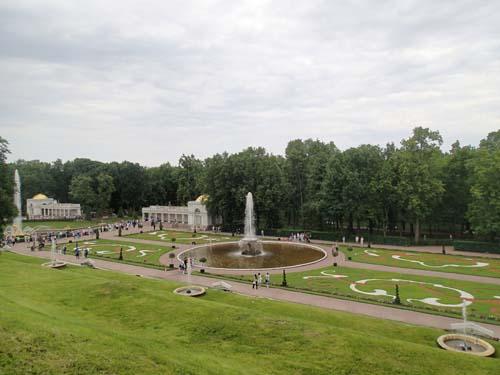 Peterhofs trädgård