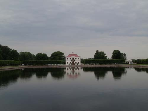 Paviljong i parken