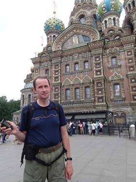 Hallén vid St. Petersburg's Most Beautiful. Foto: hebb.