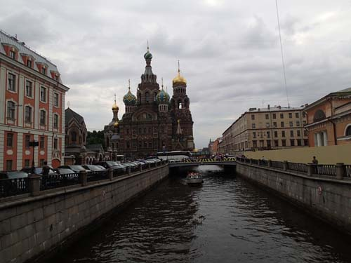 The Church of the Saviour on the Spilled Blood