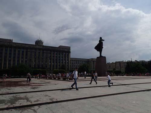 Här ser ni både Lenin och hebb.