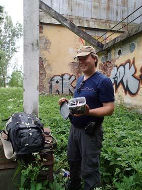 Detta var vår första letterbox i Ryssland, det är dessutom Rysslands första letterbox!
