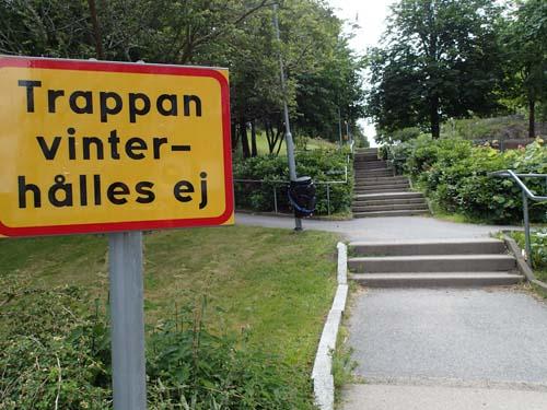Många trappor blir det....