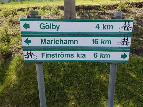 Mariehamn kommer lite närmare...
