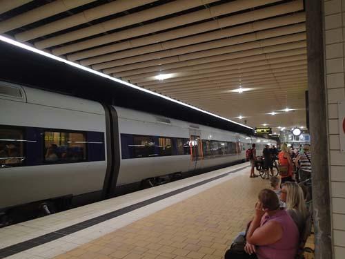 I väntan på tåg