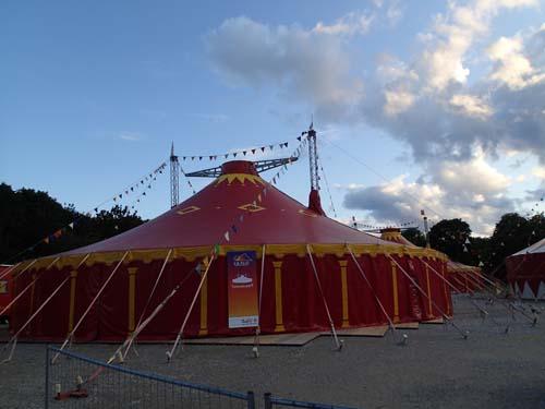 Här var det rena rama cirkusen!