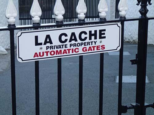 La Cache, men här fanns ingen cache!!