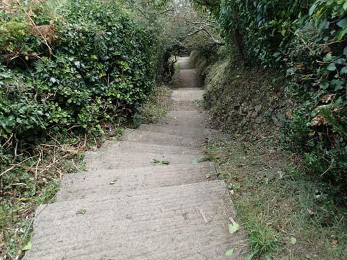 Många trappor blev det....