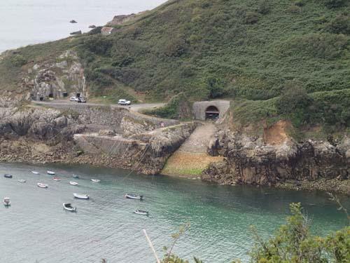 Tidvattenskillnaderna utmed kusten är verkligen tydliga!