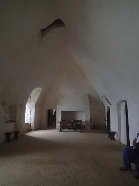 En av de äldsta delarna av slottet.