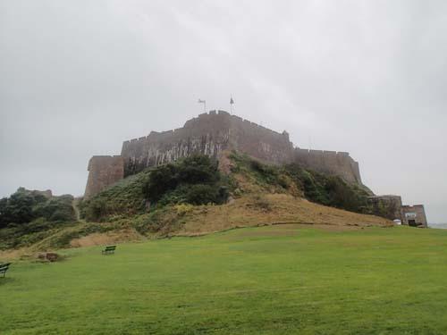 Slottet sett från letter-box sidan...