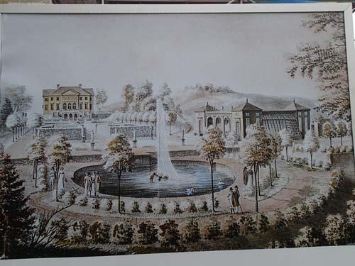 Orangeriet under slutet av 1700-talet.