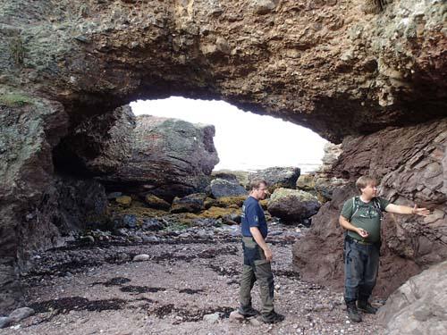 TMR68 undervisar i geologi...