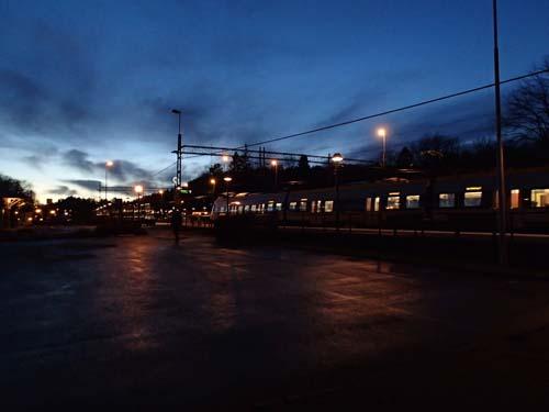 Vid Floda station